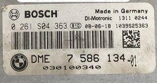 BMW Mini Cooper 1.6, 0261S04363, 0 261 S04 363, DME7586134, DME 7 586 134