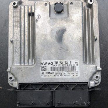 Bosch Engine ECU, VW / Audi, 0261S19137, 0 261 S19 137, 06K907309B, 06K 907 309 B