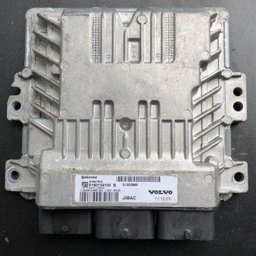 Continental Engine ECU, Volvo Diesel, SID807EVO, S180134102 B, S180134102B, 31355669,