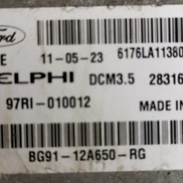 Ford Mondeo 2.0TDCi , BG91-12A650-RG, BG9112A650RG, 28316176, DCM3.5