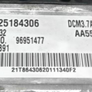 Vauxhall Antara / Chevrolet Captiva 2.2CDTi, 25184306, 28320632, 96951477, DCM3.7AP, AA55