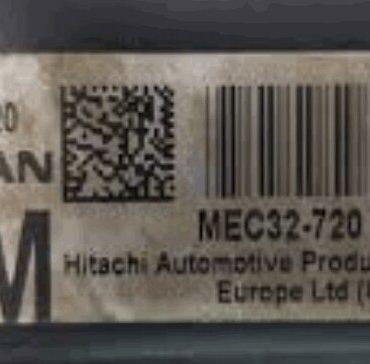 Hitachi Engine ECU, Nissan, MEC32-720, A1, 2914, RM