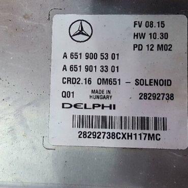 Mercedes-Benz, A6519005301, A 651 900 53 01, A6519013301, A 651 901 33 01, CRD2.16, OM651 - SOLENOID