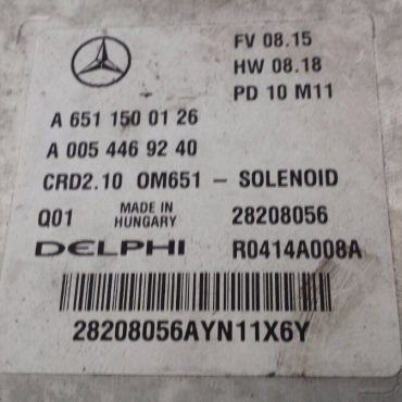 Mercedes-Benz C200, A6511500126, A 651 150 01 26, A0054469240, A 005 446 92 40, 28208056, R0414A008A, CRD2.10, OM651 - SOLENOID