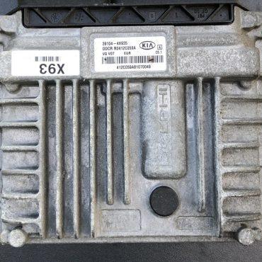Plug & Play Delphi Engine ECU, Kia, 391044X935, 39104-4X935, DDCR, R0412C059A, C5.1