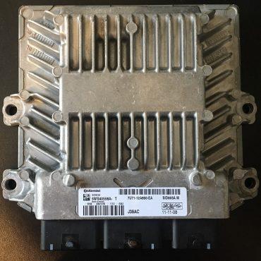 Siemens Engine ECU, Ford Focus, 5WS40558A-T, 7U71-12A650-EA, J38AC, SID803A