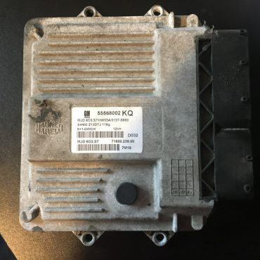Vauxhall/Opel Engine ECU, 55568002KQ, 55568002 KQ, MJD603.S7 , MJD 603.S7
