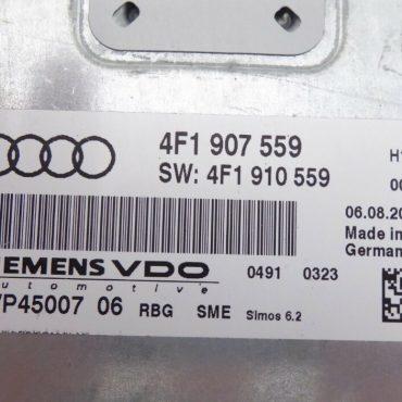 Audi A6, 4F1907559, 4F1 907 559, 5WP45009, SIMOS 6.2