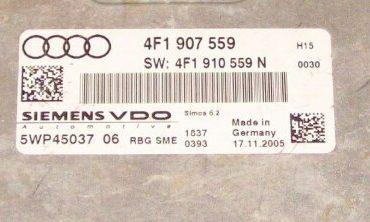 Audi A6, 4F1907559, 4F1 907 559, 5WP45037 06, SIMOS 6.2