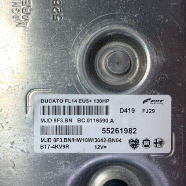 Fiat Ducato, MJD 8F3.BN, 55261982, BC.0116590.A