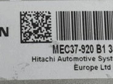 Hitachi Engine ECU, Nissan, MEC37-920 B1, F8