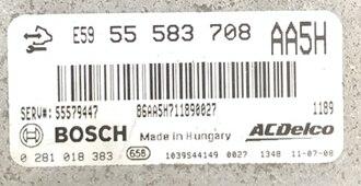 Chevrolet Aveo 1.3Mjt, 0281018383, 0 281 018 383, 55583708, 55 583 708, AA5H