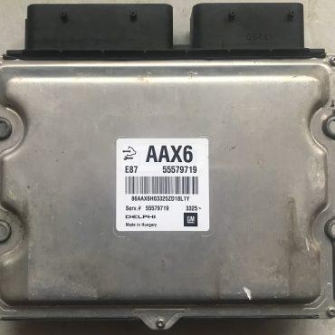 Delphi Engine ECU, Vauxhall/Opel Meriva 1.7 CDTI, 55579719, AAX6, E87