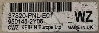 Honda CRV 2.0 Engine ECU, 37820-PNL-E01, WZ, KEIHIN