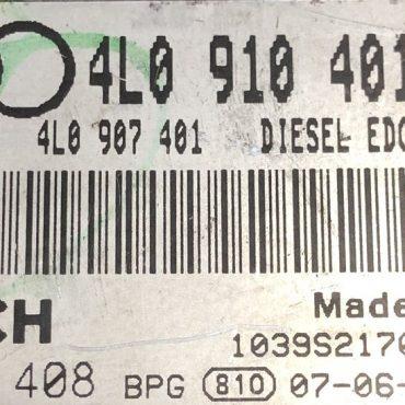 Plug & Play Audi Q7 3.0 TDI Bosch Engine ECU, 0 281 014 408, 0281014408, 4L0910401T, 4L0 910 401 T, 1039S21701
