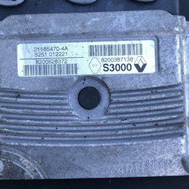 Sagem Engine ECU, Renault, S3000, 21585470-4A, 8200528372, 8200387138