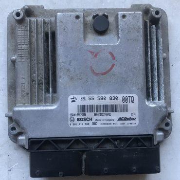 Bosch Engine ECU, Vauxhall Corsa 1.3CDTi, 0281017960, 0 281 017 960, 55580830, 55 580 830, 00TQ