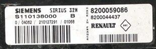 Renault Clio 1.2, S110138000 B, 8200059086, 8200044437, Sirius 32N