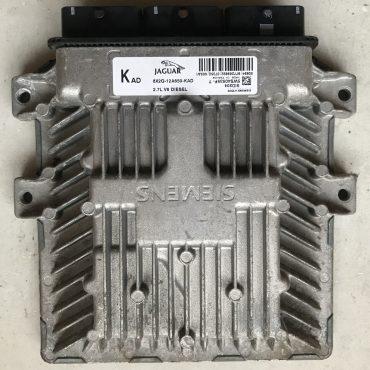 Siemens Diesel Engine ECU, Jaguar 2.7 V6, SID204, 5WS40535F-T, 8X2Q-12A650-KAD