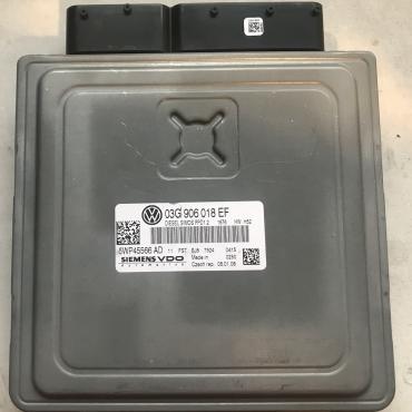 VW Touran 2.0TDi, 5WP45566AD, 5WP45566 AD, 03G906018EF, 03G 906 018 EF, PPD1.2