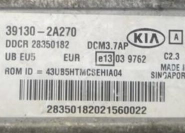 Kia Rio, 39130-2A270, DDCR 28350182, DCM3.7AP,