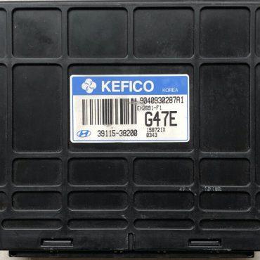 Plug & Play Kefico Engine ECU, KIA, 39115-38200, 9040930287A1, 9 040 930 287 A1, EH2691-F1