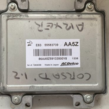 Vauxhall/Opel Engine ECU, Corsa D 1.2, ACDelco, 55583739, AA5Z