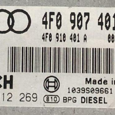 Audi A6 3.0 TDI Avant Quatro, 0281012269, 0 281 012 269, 4F0910401A, 4F0 910 401 A, 1039S09661, EDC16CP