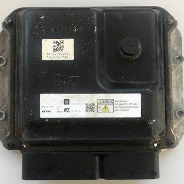 Vauxhall Zafira 1.7 D, Denso Engine ECU, 55595619 MB275700-2090, WZ