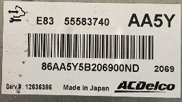 ACDelco, 55583740, AA5Y, E83