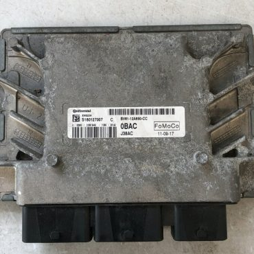 Continental Engine ECU, Ford, 0BAC, BV61-12A650-CC, EMS2204, J38AC, S180127007C, S180127007 C