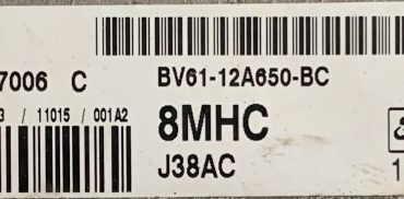 Ford, 8MHC, BV61-12A650-BC, EMS2204, J38AC, S180127006C, S180127006 C, 8MHC
