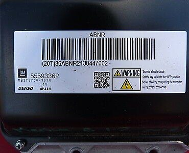 Denso Engine ECU, 55593362, MB275700-3570, ABNR