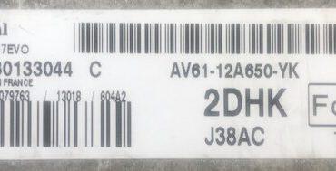 Ford C Max, SID807EVO, J38AC, S180133044 C, AV61-12A650-YK, 2DHK