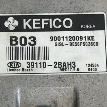 Kia Sportage, 39110-2BAH3, 9001120091KE, MED 17.9.8