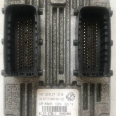 Magneti Marelli Engine ECU, Fiat Panda , IAW 5SF8.CP, HW401, 51933484, BC.0111768.C