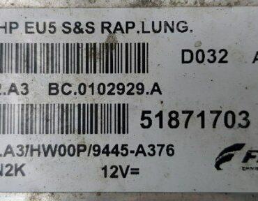 Alfa , 51871703, MJD 8F2.A3, BC.0102929.A