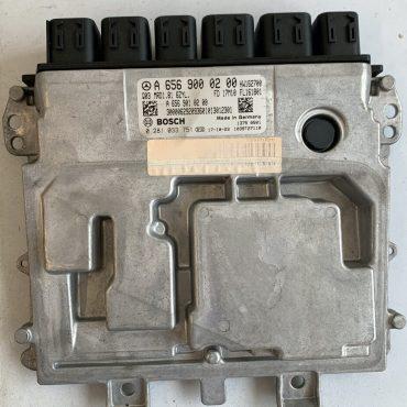 Bosch Engine ECU, Mercedes-Benz, 0281033751, 0 281 033 75, 1039T27110, A6549000200, A 654 900 02 00