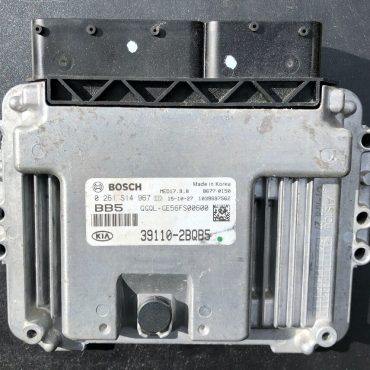Bosch Engine ECU, Kia Sportage, 0261S14967, 0261 S14 967, 39110-2BQB5, 1039S97562, MED 17.9.8
