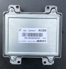 Corsa 1.4 Engine ECU, ACDelco, 12679197, ACB5, E83