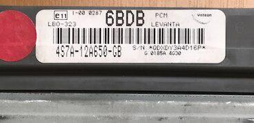 Visteon Engine ECU, 4S7A-13A650-GB, 6BDB, LBO-323