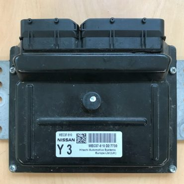 Hitachi Engine ECU, Nissan Note, MEC37-510 D2, Y3