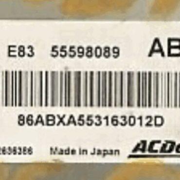 55598089, ABXA, E83, 12636386