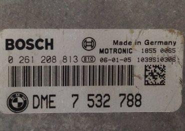 BMW 318 Ci Cabrio 2.0, 0261208813, DME7532788, 0 261 208 813, DME 7 532 788, 1039S10306
