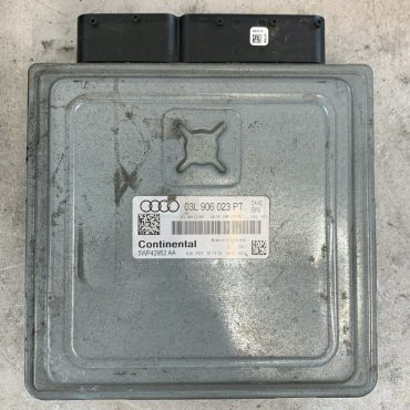 Continental Engine ECU, 03L906023PE, 03L 906 023 PE, 5WP42952 AA, DIESEL SIMOS PCR2.1