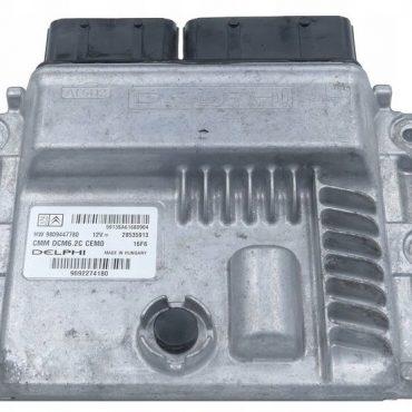 Delphi Engine ECU, PEUGEOT/ CITROEN, 9692274180, 28535913, HW 9809447780, DCM6.2C