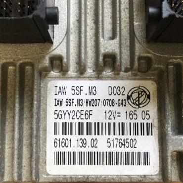 Fiat, IAW 5SF.M3, 61601.139.02, 51764502