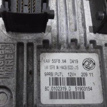 Fiat Panda 1.2, IAW 5SF8.M4, HW409, 51903154, BC.0102319.D