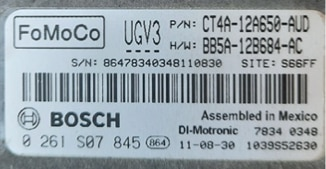 Ford, 0261S07845, 0 261 S07 845, CT4A-12A650-AUD, BB5A-12B684-AC, 1039S5263