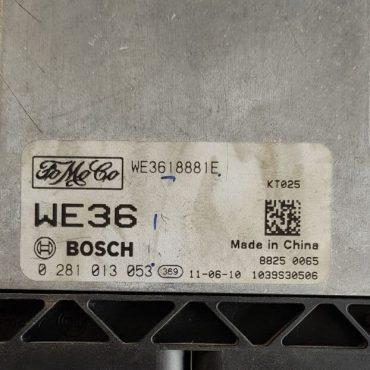 Ford Everest, 0281013053, 0 281 013 053, WE3618881E